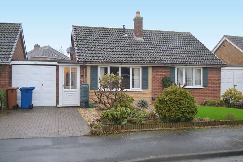 2 Bedrooms Detached Bungalow for sale in Orchard Close, Lichfield
