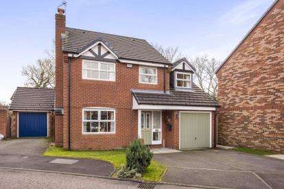 4 Bedrooms Detached House for sale in Avocet Court, Leyland, Lancashire, Preston