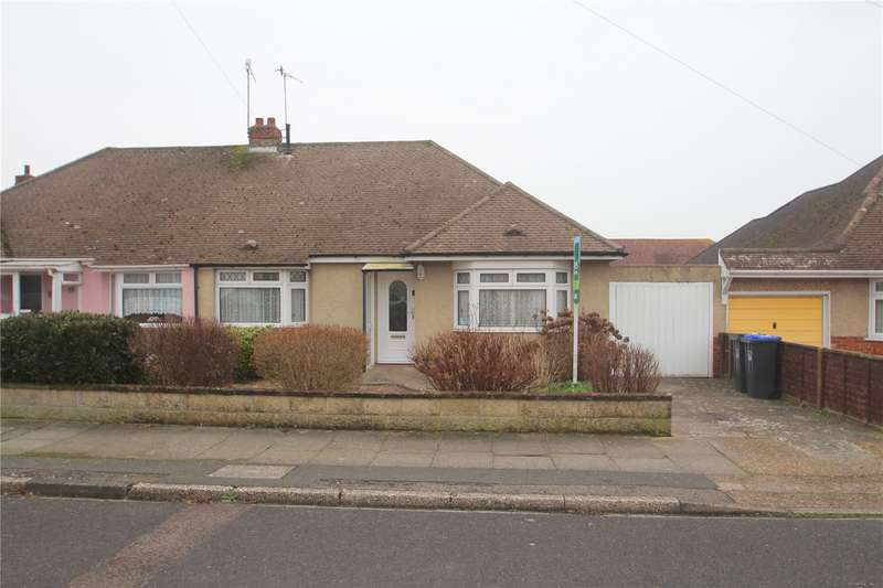 2 Bedrooms Semi Detached Bungalow for sale in Hamilton Road, Lancing, West Sussex, BN15