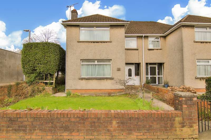 3 Bedrooms Semi Detached House for sale in Heol Llanishen Fach, Cardiff