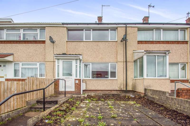 2 Bedrooms Terraced House for sale in Common Approach, Beddau, Pontypridd