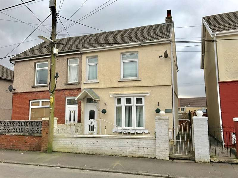 3 Bedrooms Semi Detached House for sale in Godfrey Avenue, Glynneath, Neath