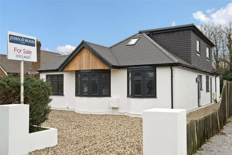 5 Bedrooms Detached Bungalow for sale in The Woodlands, Esher, Surrey, KT10
