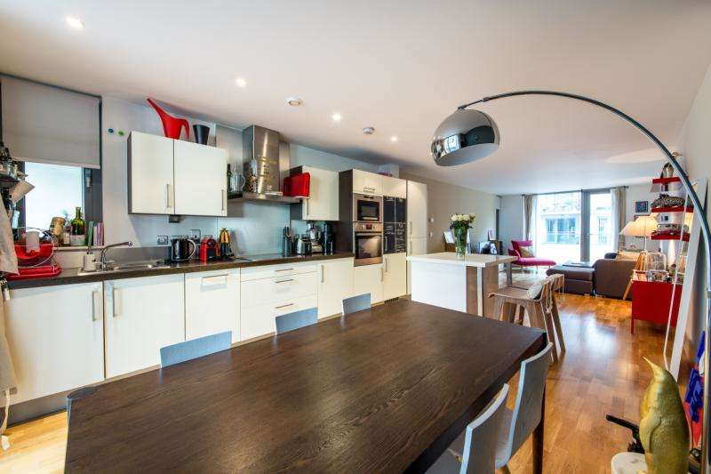 2 Bedrooms Flat for sale in Northstand Apartments, Highbury Stadium Square, London, N5
