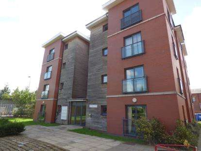 2 Bedrooms Flat for sale in Frappell Court, Central Way, Warrington, Cheshire, WA2