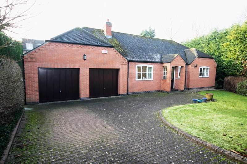3 Bedrooms Detached Bungalow for sale in Barn Close, Castle Donington