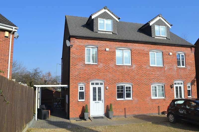 4 Bedrooms Semi Detached House for sale in Livingstone Drive, Off Burton Old Road East, LICHFIELD