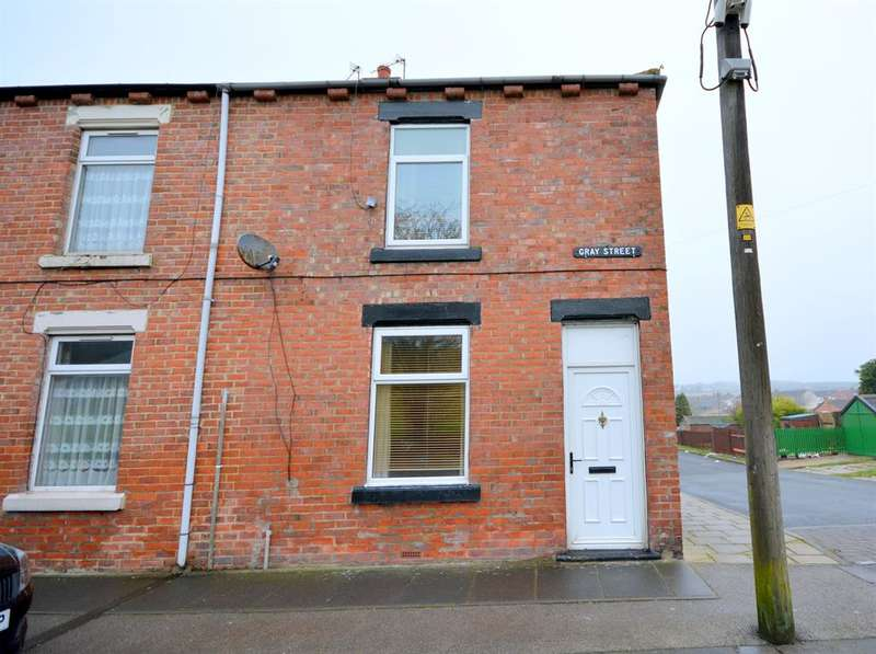 2 Bedrooms End Of Terrace House for sale in Gray Street, Eldon Lane, Bishop Auckland, DL14 8SZ