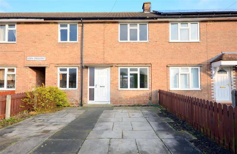 3 Bedrooms Terraced House for sale in Eden Crescent, Darlington, DL1 5TW