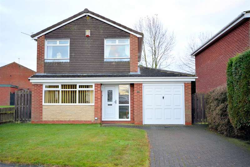 3 Bedrooms Detached House for sale in Linburn Drive, Bishop Auckland, DL14 0RG