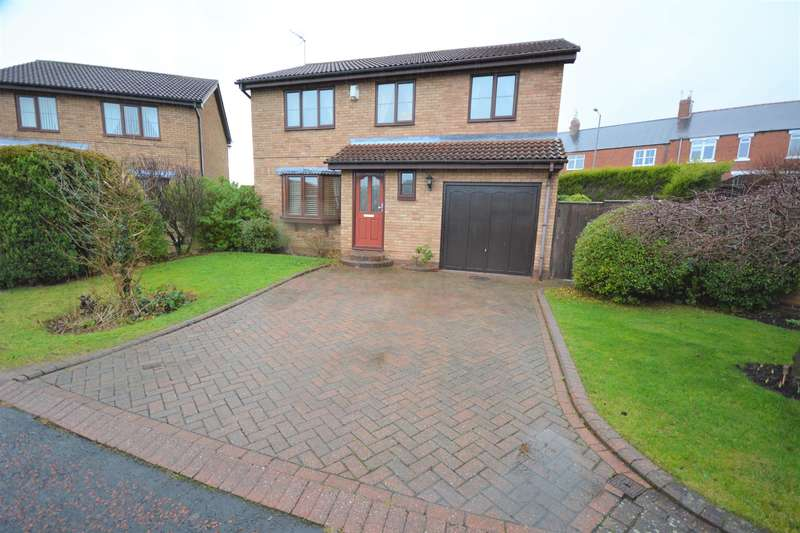 4 Bedrooms Detached House for sale in Beechburn Park, Crook, DL15 8NA