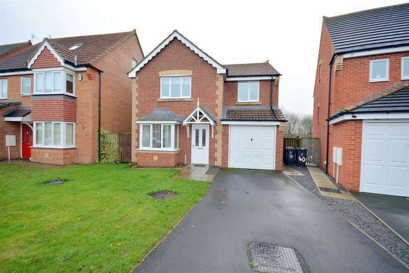 4 Bedrooms Detached House for sale in Armstrong Drive, Willington, Crook, DL15 0GB