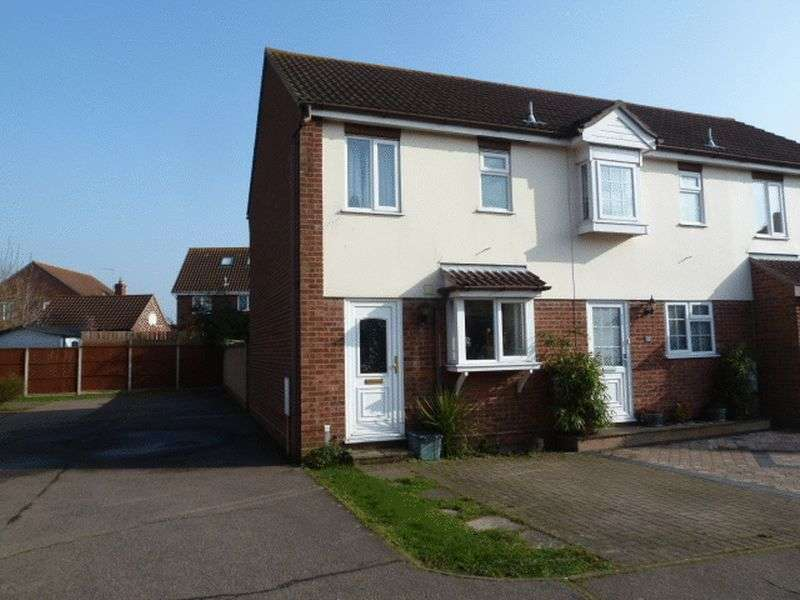 2 Bedrooms Terraced House for sale in Langwood, West Mersea