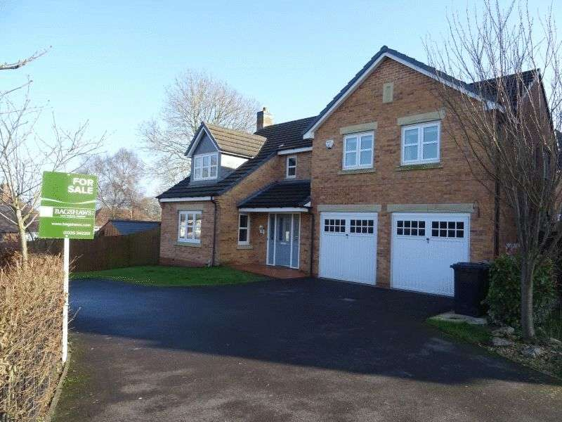 5 Bedrooms Detached House for sale in Stuart Close, Ashbourne