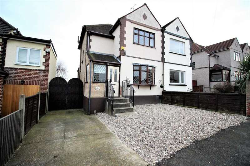2 Bedrooms Semi Detached House for sale in Medina Road, Little Thurrock