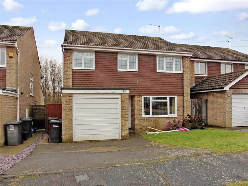 4 Bedrooms Detached House for sale in Scarletts Close, Uckfield, East Sussex