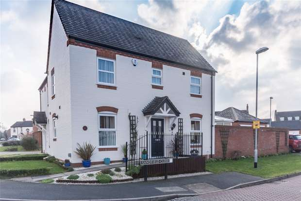 3 Bedrooms Semi Detached House for sale in Sandfield Meadow, Lichfield, Staffordshire