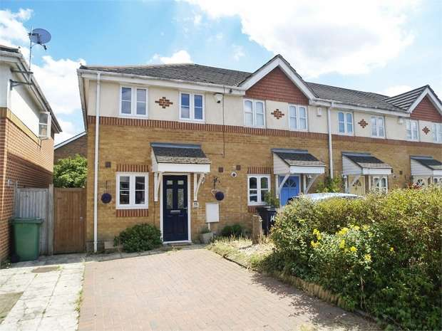 2 Bedrooms End Of Terrace House for sale in Pemberley Close, West Ewell