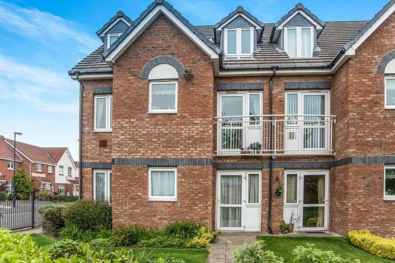 1 Bedroom Flat for sale in Grangeside Court Brabourne Gardens, North Shields, NE29