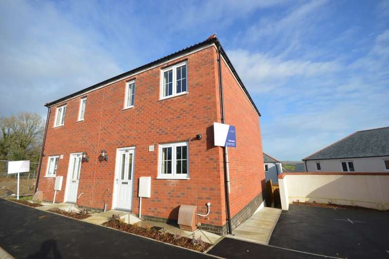 2 Bedrooms Semi Detached House for sale in Trevethan Meadows Carlton Way, Liskeard, PL14