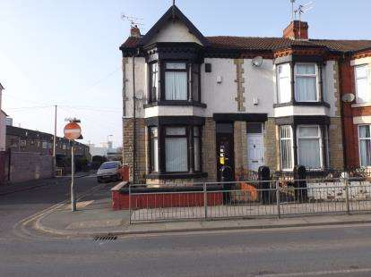 4 Bedrooms End Of Terrace House for sale in Hawthrorne Road, Bootle, Liverpool, Merseyside, L20