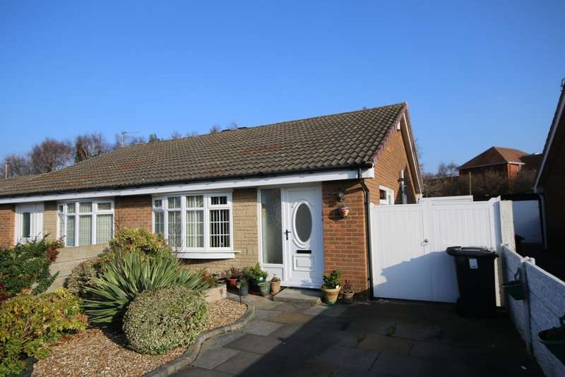 2 Bedrooms Semi Detached Bungalow for sale in Ripon Close, Kew, Southport