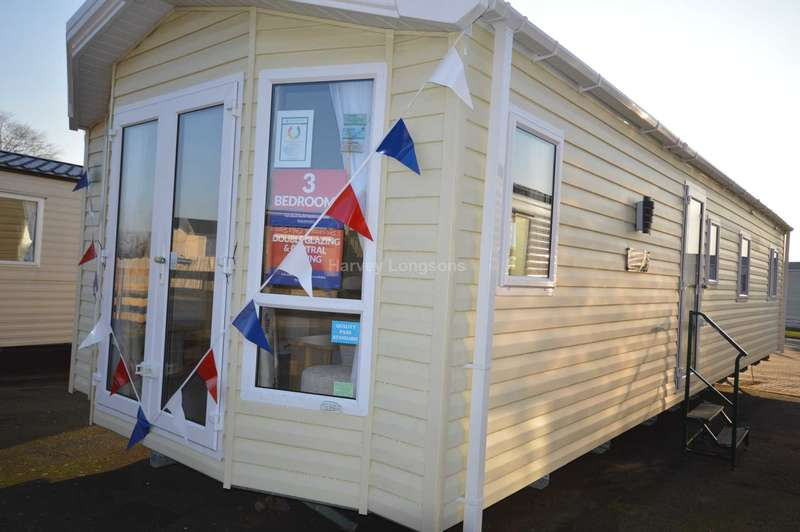 3 Bedrooms Caravan Mobile Home for sale in Alberta Holiday Park, Faversham Road, Whitstable