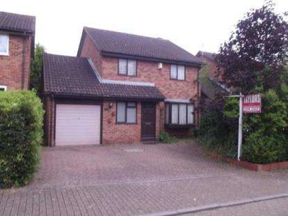 4 Bedrooms Detached House for sale in Padstow Avenue, Fishermead, Milton Keynes