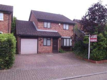 4 Bedrooms Detached House for sale in Padstow Avenue, Fishermead, Milton Keynes