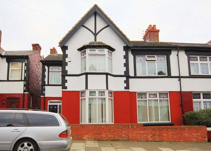 4 Bedrooms Semi Detached House for sale in Bristol Road, Wavertree, Liverpool, L15