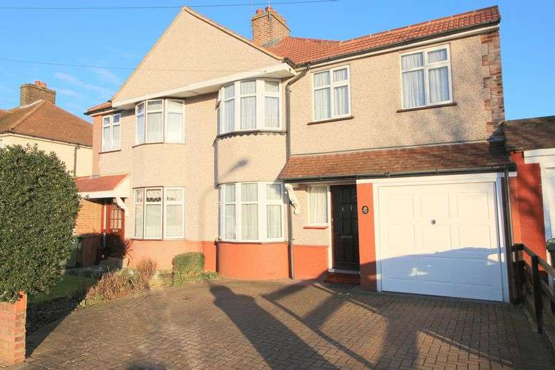 4 Bedrooms Semi Detached House for sale in Blenheim Road, Sidcup