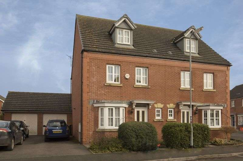 4 Bedrooms Semi Detached House for sale in Buccaneer Way, Newport