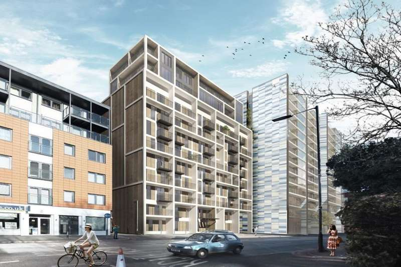 2 Bedrooms Flat for sale in Nine Sutton Court Road, Sutton, SM1