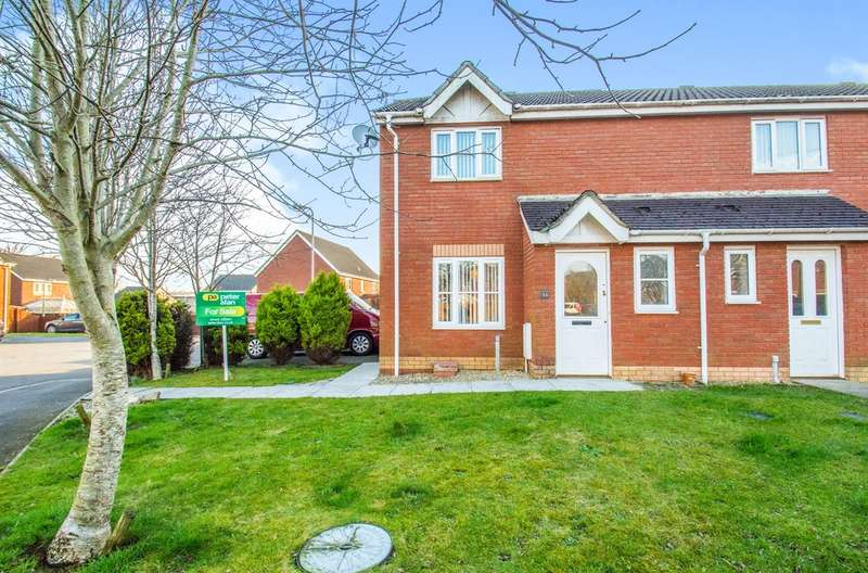 3 Bedrooms Semi Detached House for sale in Coed Mieri, Tyla Garw, Pontyclun