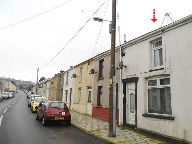 1 Bedroom Terraced House for sale in Alma Road, Maesteg, Maesteg, Mid Glamorgan