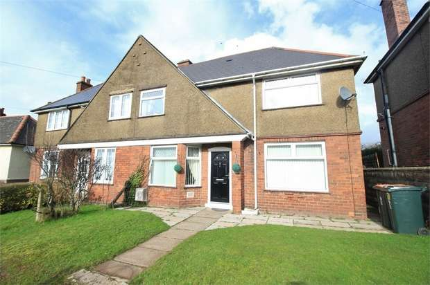 3 Bedrooms Semi Detached House for sale in 57 Christchurch Road, NEWPORT