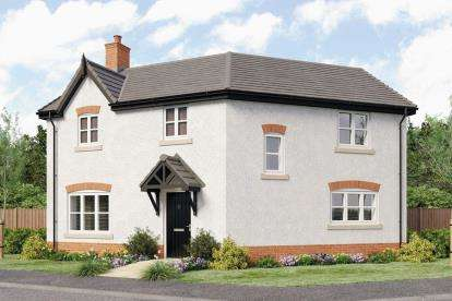3 Bedrooms Detached House for sale in Montague Court, Birmingham Road, Stratford-upon-Avon