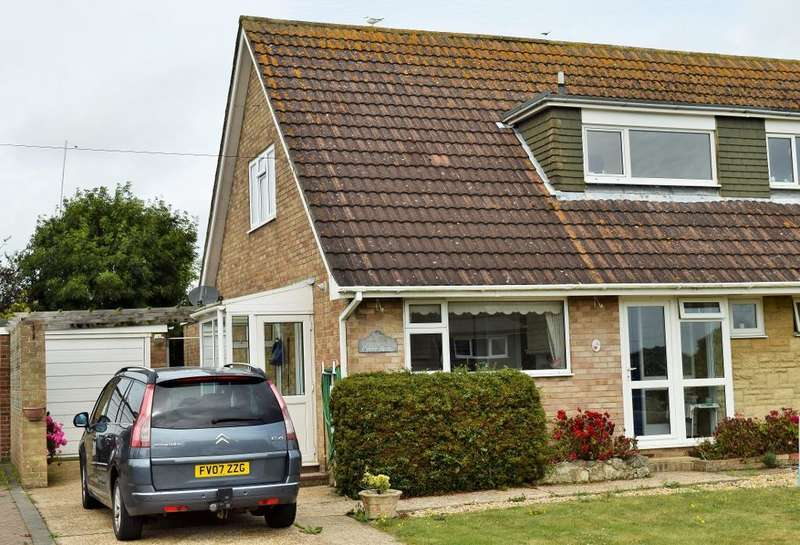 3 Bedrooms Semi Detached House for sale in Caws Avenue, Seaview, Isle of Wight, PO34 5JX