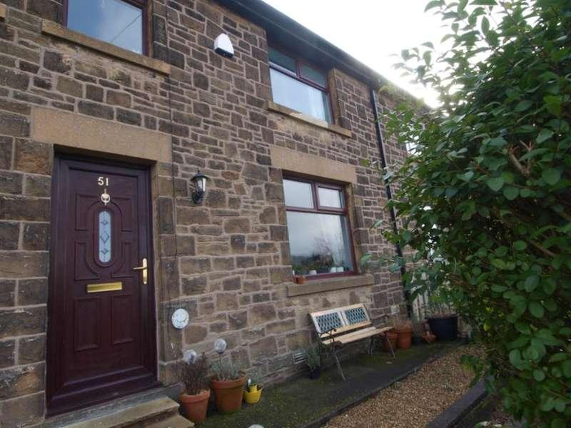3 Bedrooms Terraced House for sale in Jubilee Street, New Mills, High Peak, Derbyshire, SK22 4PA