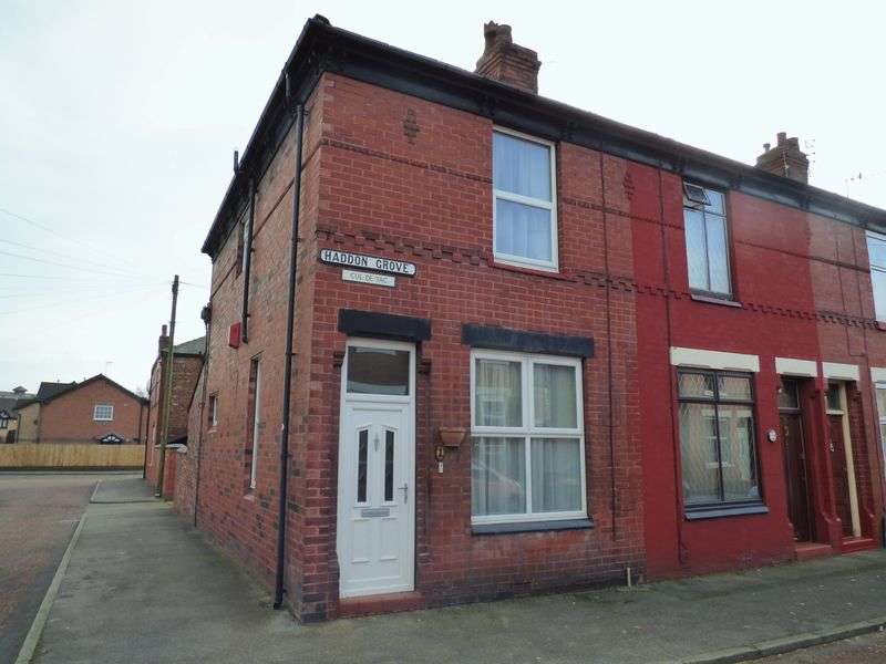 2 Bedrooms Terraced House for sale in Haddon Grove, Stockport