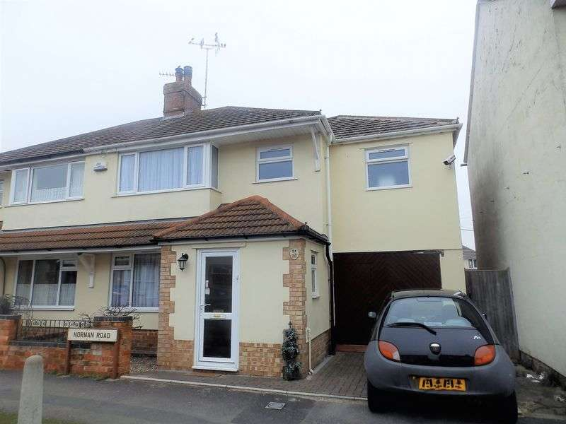 3 Bedrooms Semi Detached House for sale in Norman Road, Gorse Hill, Swindon
