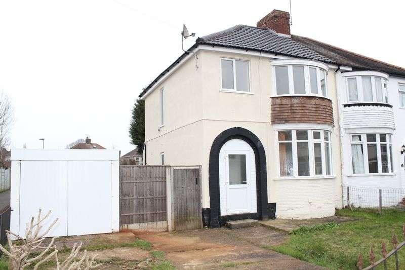 3 Bedrooms Semi Detached House for sale in Sandon Road, Wolverhampton