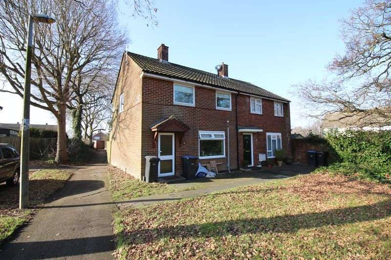 2 Bedrooms Semi Detached House for sale in Chapel Fields, Harlow, CM17