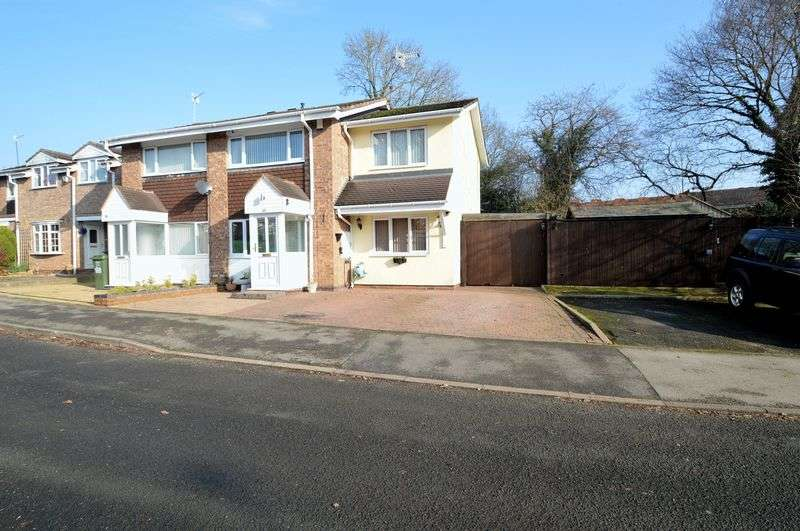 3 Bedrooms Semi Detached House for sale in Donnington Close, Church Hill South