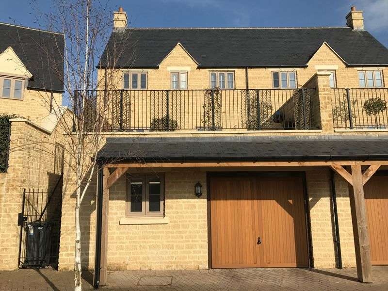 3 Bedrooms Semi Detached House for sale in Matthews Walk - Kingshill Meadow - Cirencester - GL7
