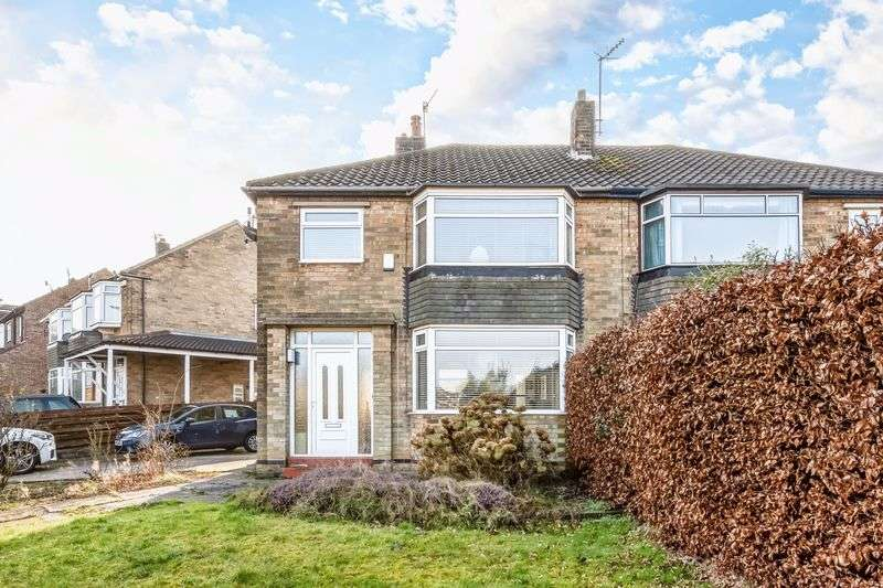 3 Bedrooms Semi Detached House for sale in Prospect Road, Bradway, Sheffield, S17 4JB