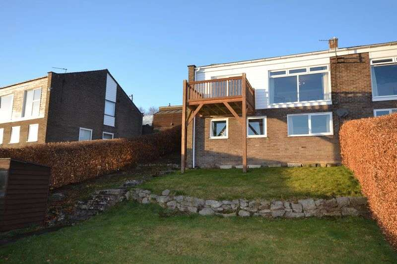 3 Bedrooms Semi Detached House for sale in Simonside View, Rothbury