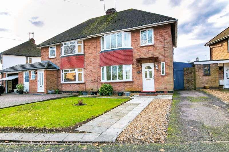 3 Bedrooms Semi Detached House for sale in Chestnut Crescent, Milton Keynes