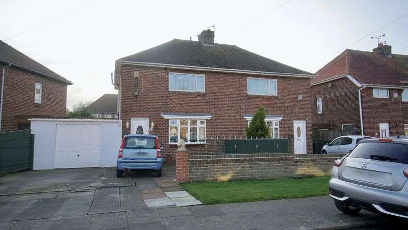 2 Bedrooms Semi Detached House for sale in HARLOW PLACE, Backworth