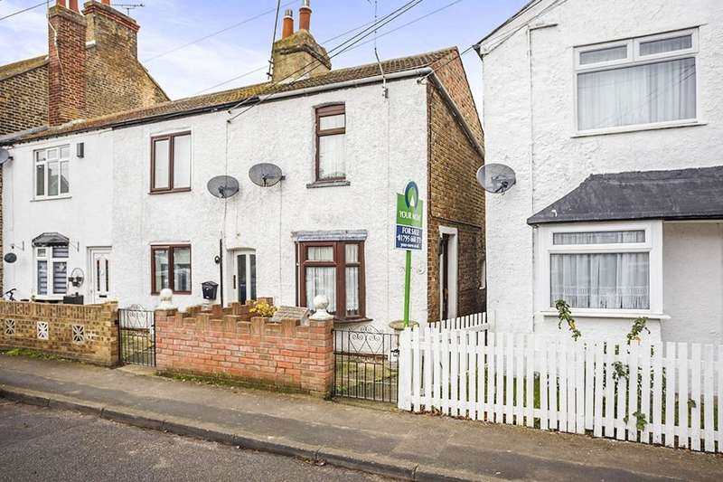 2 Bedrooms Semi Detached House for sale in High Street, Eastchurch, Sheerness, ME12